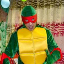 Черепашка Ниндзя на детский праздник в Киеве